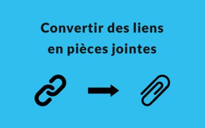 Convertir des liens en pièces jointes sur Airtable