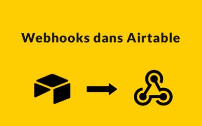Webhooks dans Airtable